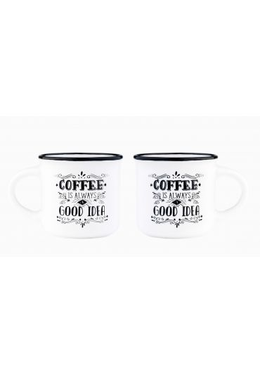 Set 2 cesti pentru espresso - Coffee