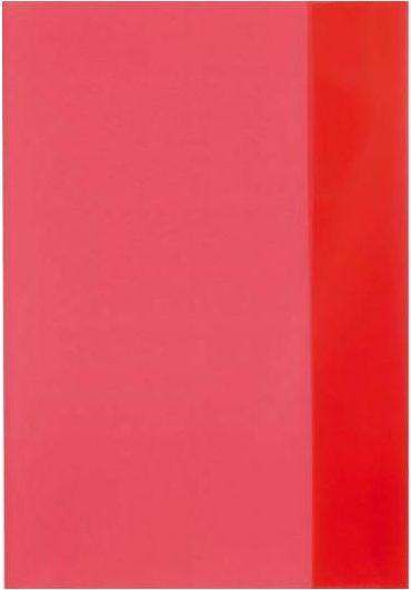Coperta caiet A5 rosie