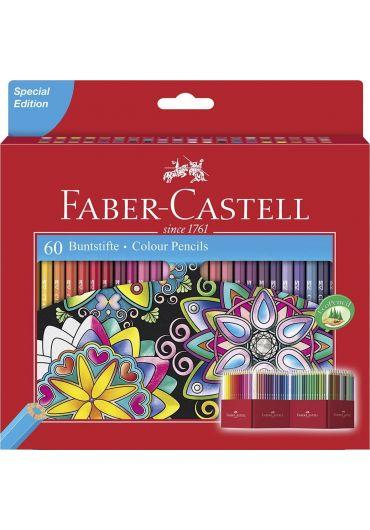 Creioane colorate 60 culori editie speciala