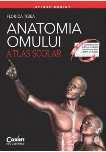 Anatomia omului - Atlas scolar