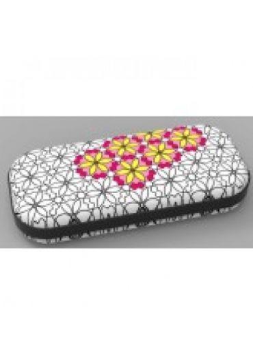 Penar cu fermoar Zipit Color In - Big Flowers