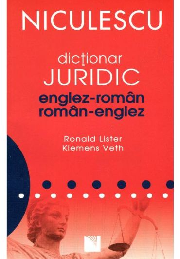 Dictionar juridic englez roman, roman englez