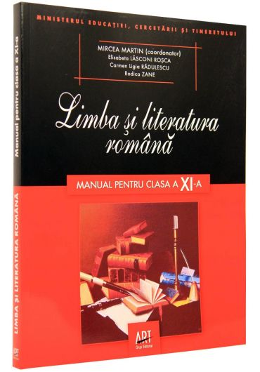 Manual limba si literatura romana clasa a XI-a