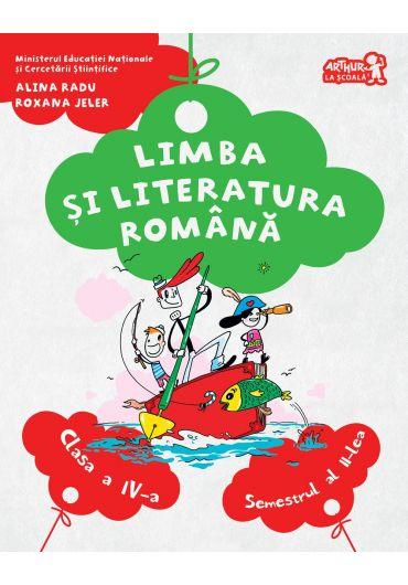 Manual Limba si literatura romana clasa a IV-a semestrul II + CD