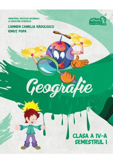 Manual de geografie clasa a IV-a semestrul I + CD