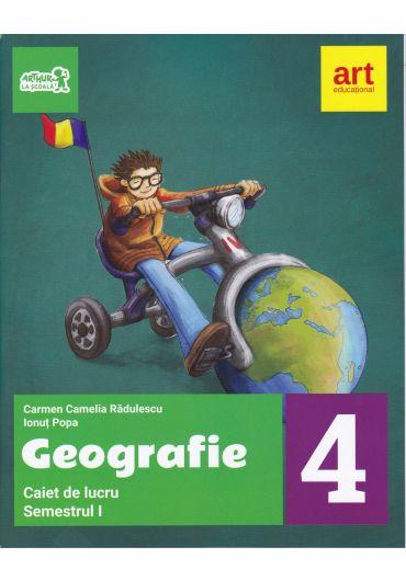 Caiet de lucru geografie clasa a IV-a semestrul I