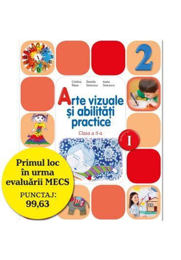 Manual de arte vizuale si abilitati practice clasa a II-a semestrul I + CD