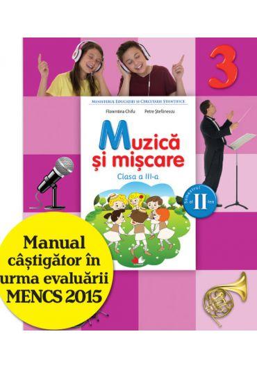 Manual muzica si miscare clasa a III-a semestrul II + CD