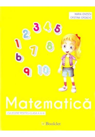 Matematica - Clasa 4 - Culegere