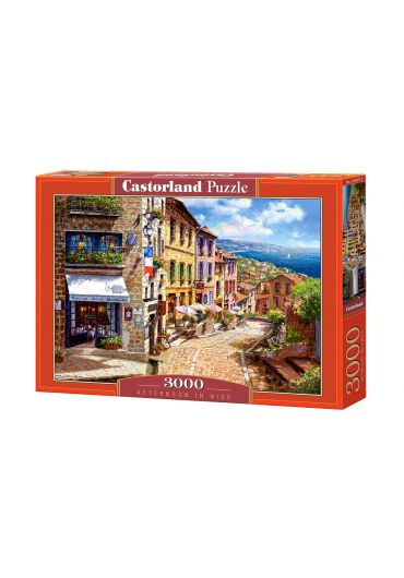 Puzzle 3000 piese Afternoon in Nice
