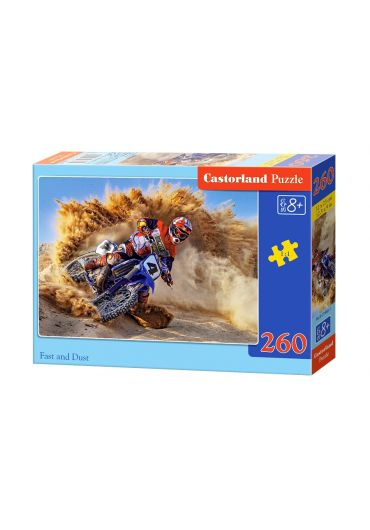 Puzzle 260 piese Fast and Dust