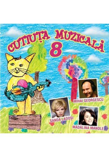 Cutiuta muzicala 8 - CD