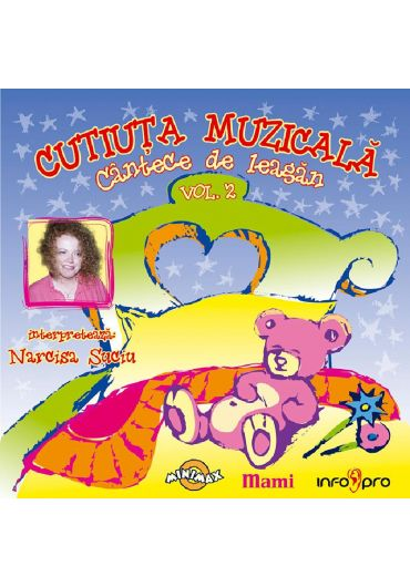 Cutiuta Muzicala - Cantece de leagan, vol. 2