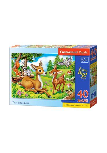Puzzle 40 piese MAXI Dear Little Deer