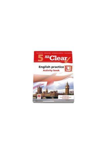 All clear. English practice. Activity book. L1. Lectia de engleza