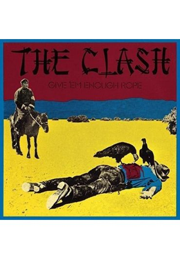 The Clash - GIVE 'EM ENOUGH ROPE - Vinyl