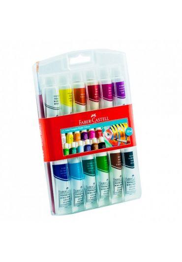 Tempera 12 culori 12ml cutie carton
