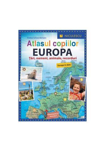 Atlasul copiilor - Europa