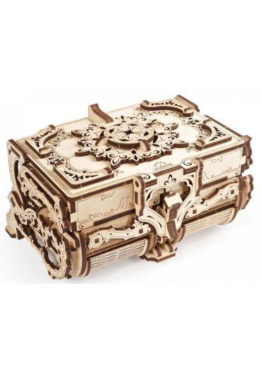 Puzzle 3D lemn - Cutie antica de bijuterii